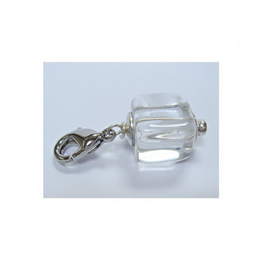 """Charm cristal de roche pour """"european beads"""""""