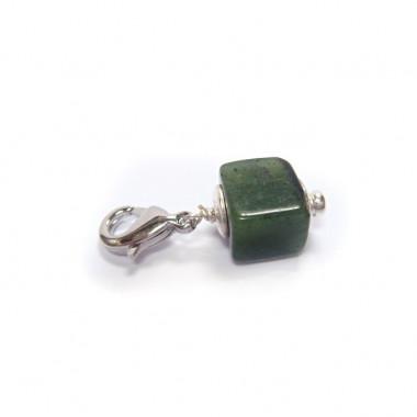"Charm en jade pour ""european beads"""