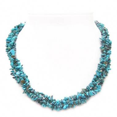 Collier baroque turquoise