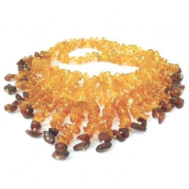 Collier rivière en ambre