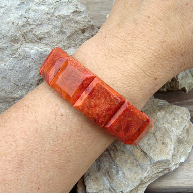 Bracelet corail gorgone