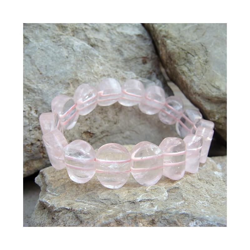 bracelet quartz rose. Black Bedroom Furniture Sets. Home Design Ideas