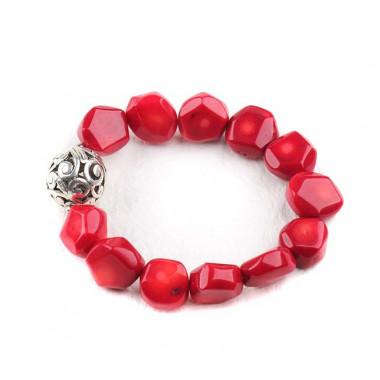 Bracelet en corail.