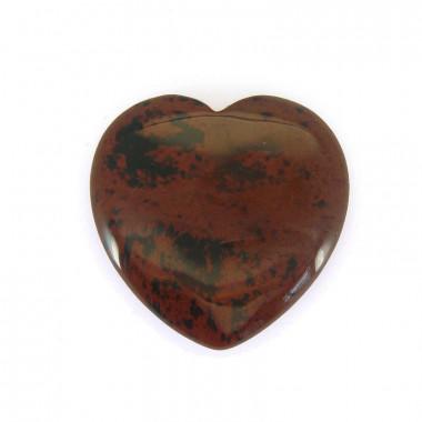 Coeur obsidienne brune