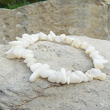 Bracelet baroque nacre