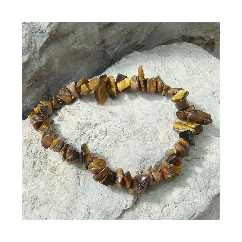Bracelet baroque oeil de tigre