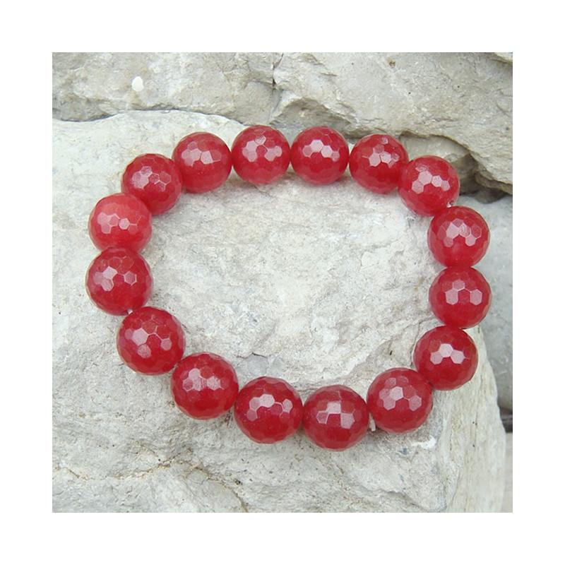 Bracelet agate teintée