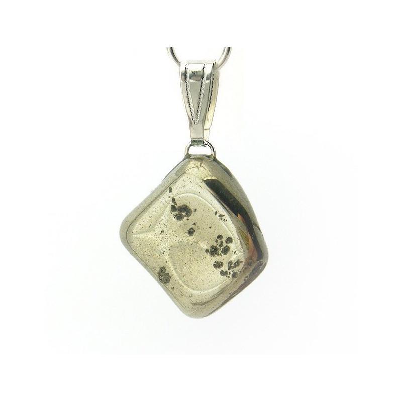 Pendentif pyrite