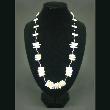 Collier perles biwa