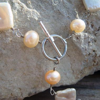 Collier perles d'eau douce.
