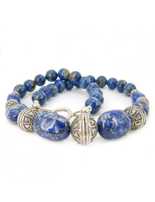 Collier lapis lazuli