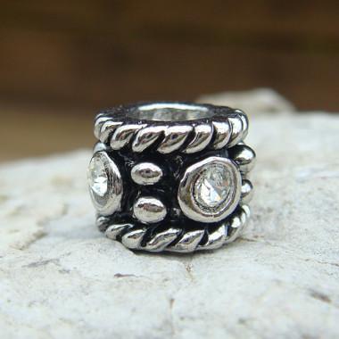 "Perle argent ""european beads"""