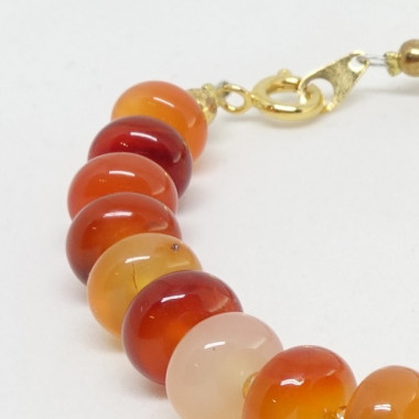 Cornaline, bracelet