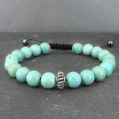 Turquoise, Bracelet homme