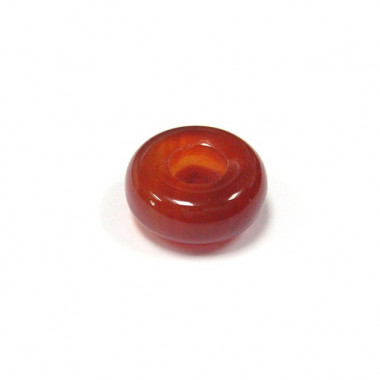 Perle cornaline large trou