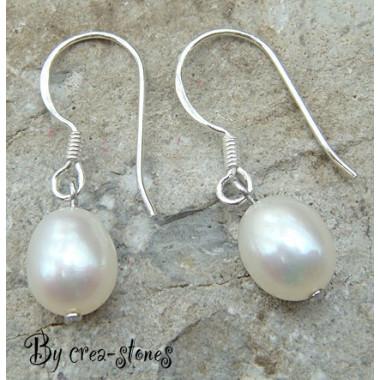 Boucles d'oreilles en perle...