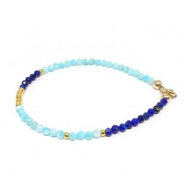 Amazonite et lapis lazuli...