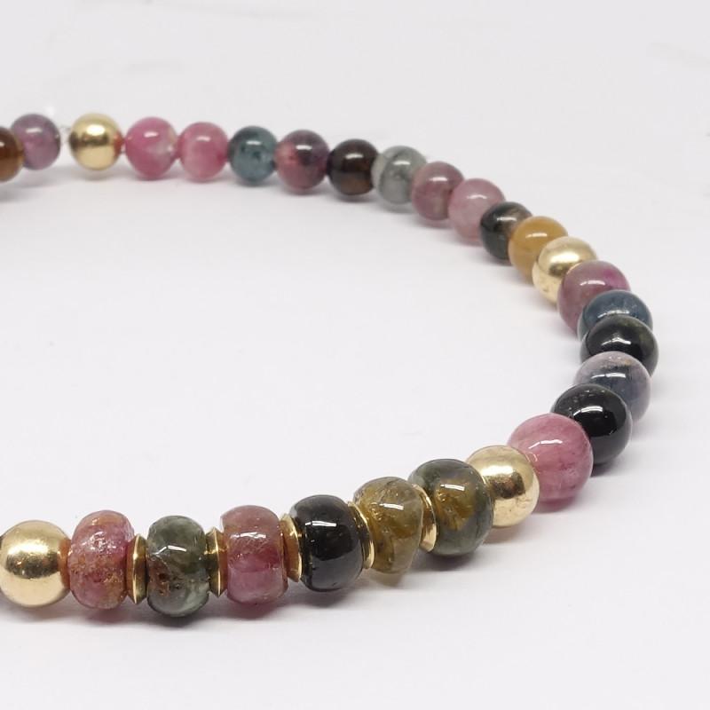 Améthyste et quartz rose