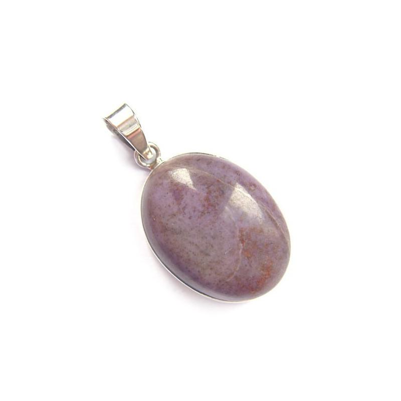 Pendentif en jadéite violette