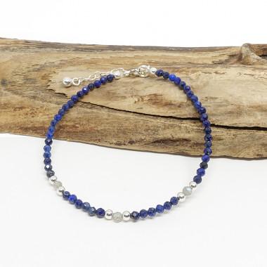 Lapis lazuli et labradorite