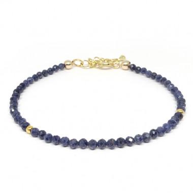 Saphir facettes, Bracelet...