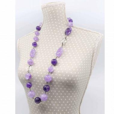 Cultiver l'art de la séduction - Cornaline, citrine, grenat et quartz rose, Bracelet harmonie