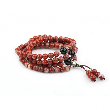 """Bracelet """"rosary"""" jaspe..."""